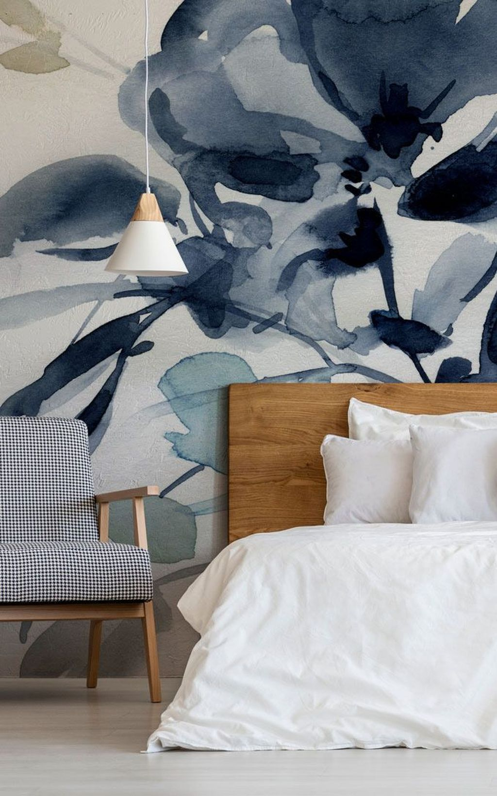 Best 37 Relaxing Bedroom Wallpaper Decoration Ideas For 400 x 300