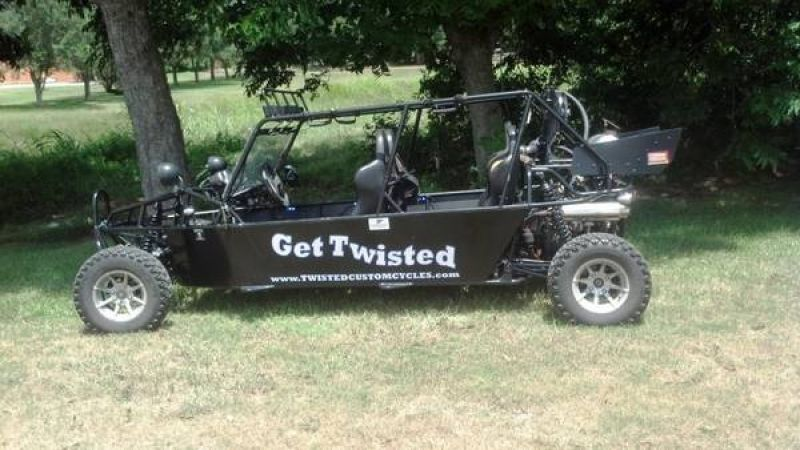 Used 2008 800cc 4 seater dune buggy  AWESOME! http://www.classifiedride.com/view_ad/id/1199642-Used+2008+800cc+4+seater+dune+buggy++AWESOME%21