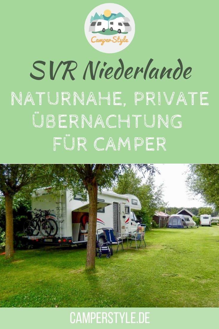 Photo of SVR Niederlande: Private Übernachtungsmöglichkeiten für Camper