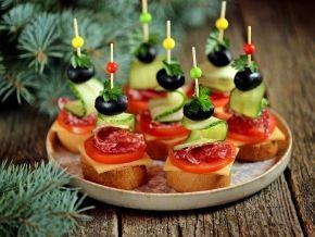 Бутерброды на Новый 2019 год | новогодние рецепты