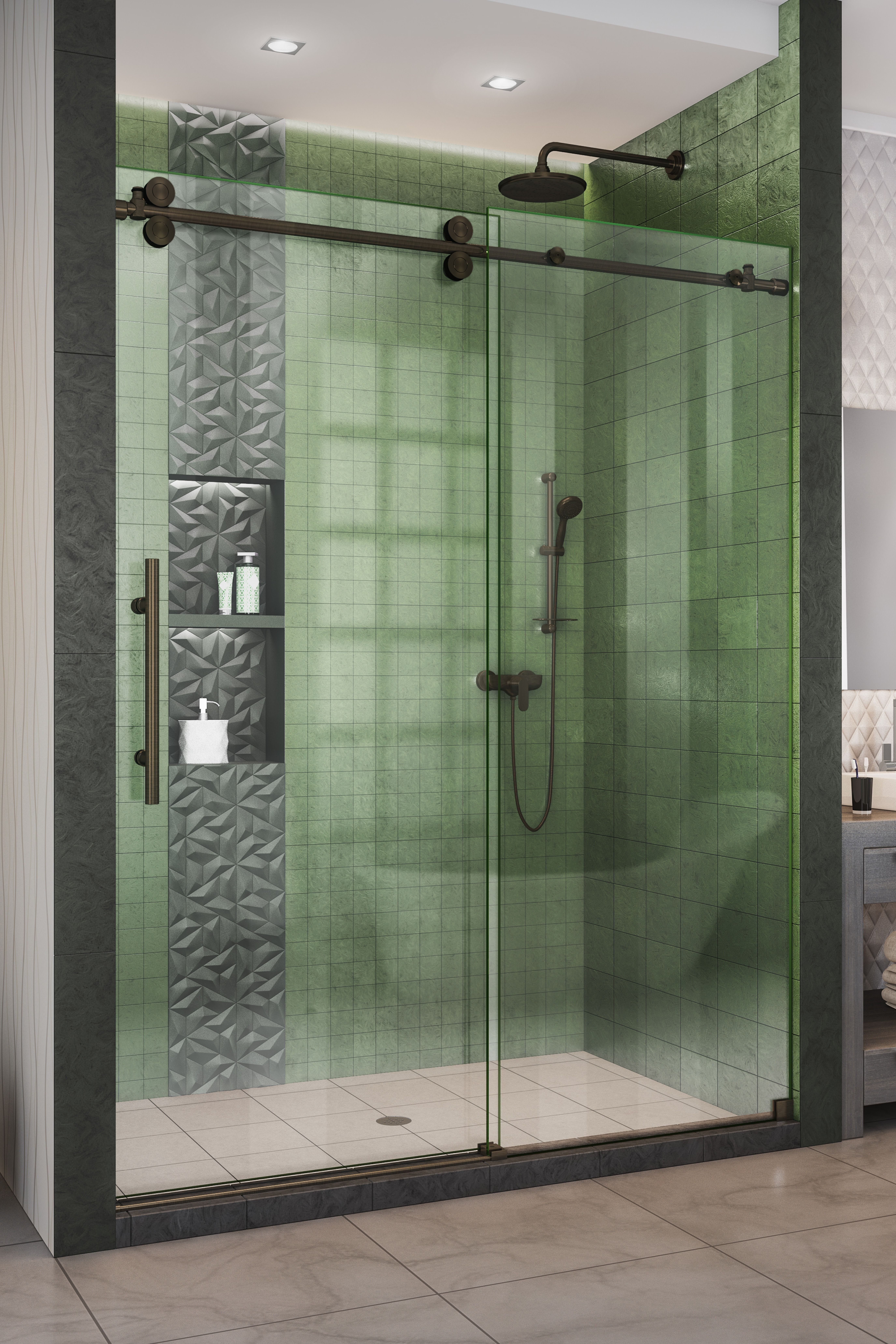 Create A True Shower Oasis Now With Dreamline S Enigma Xo Shower