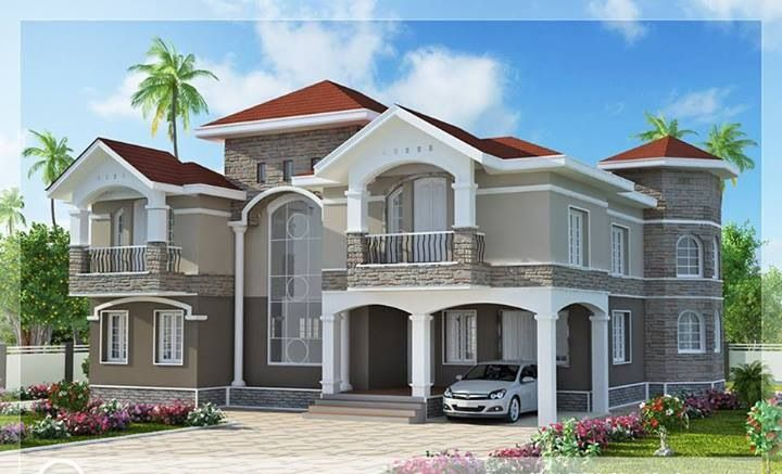dream house (With images) Kerala house design, Luxury