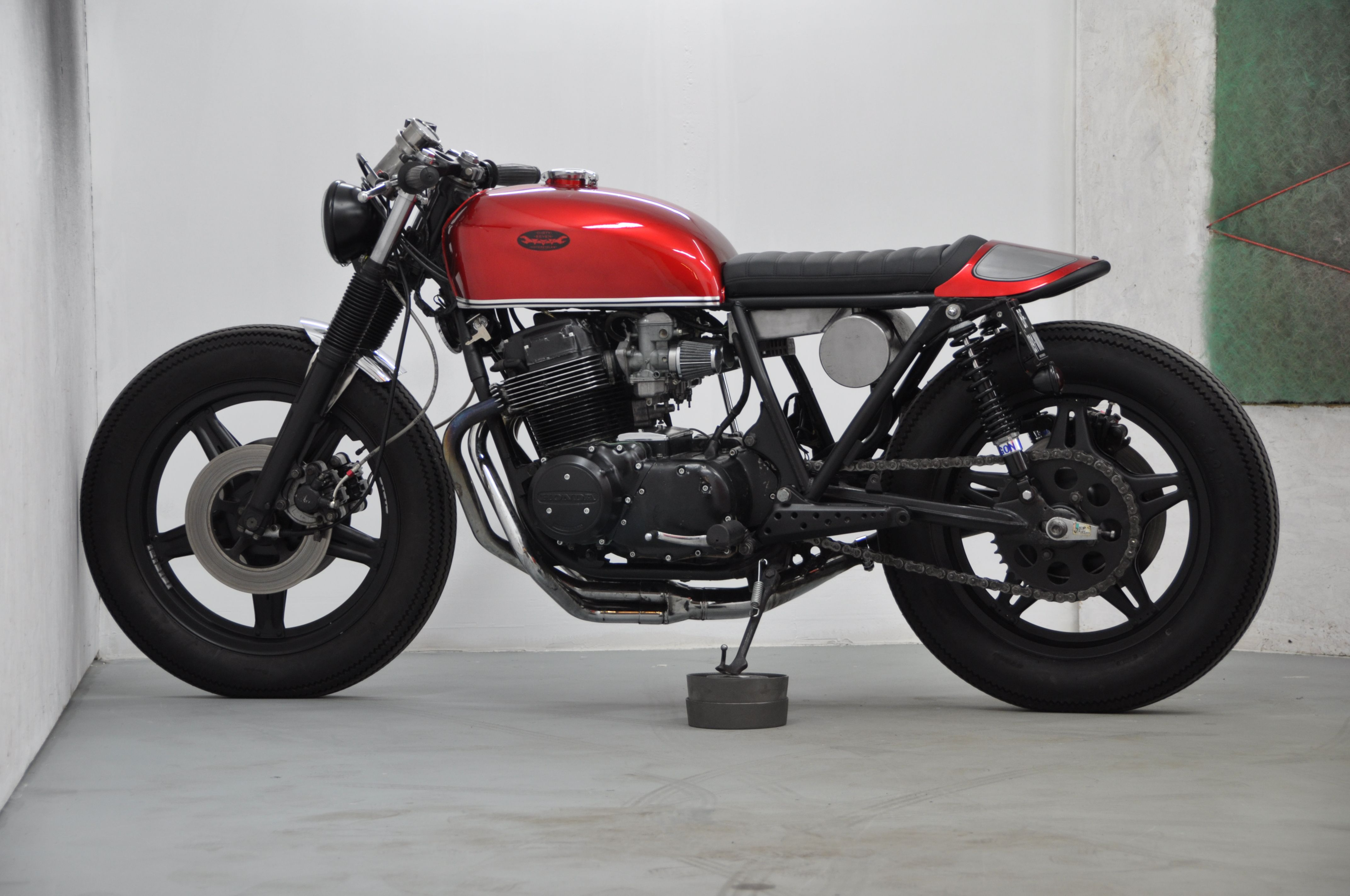 Honda Cb 750 Four F2 Cafe Racer By Dirty Seven Motorcycles Moto