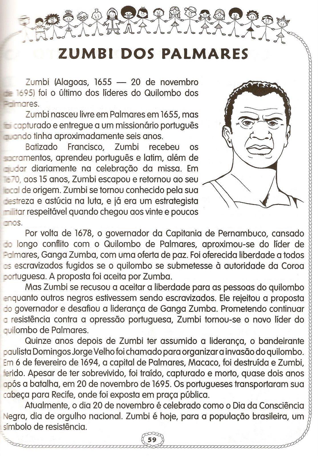 Pin De Ana Lima Em Concurso Atividades Sobre Consciencia Negra