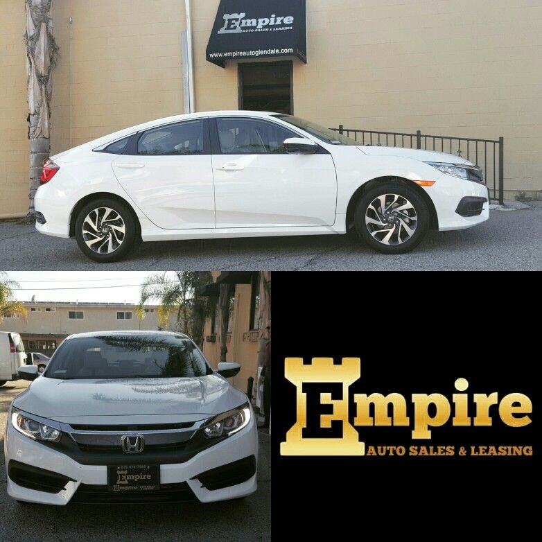 Congratulations Komitas On Your Brand New Honda Civic Welcome To The Empire Auto Family Empireauto New Car Lease Purc New Honda Civic Ex Cars For Sale