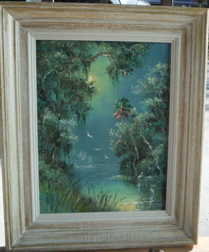 HIGHWAYMEN PAINTING, FLORIDA ART, SAM NEWTON 10X13