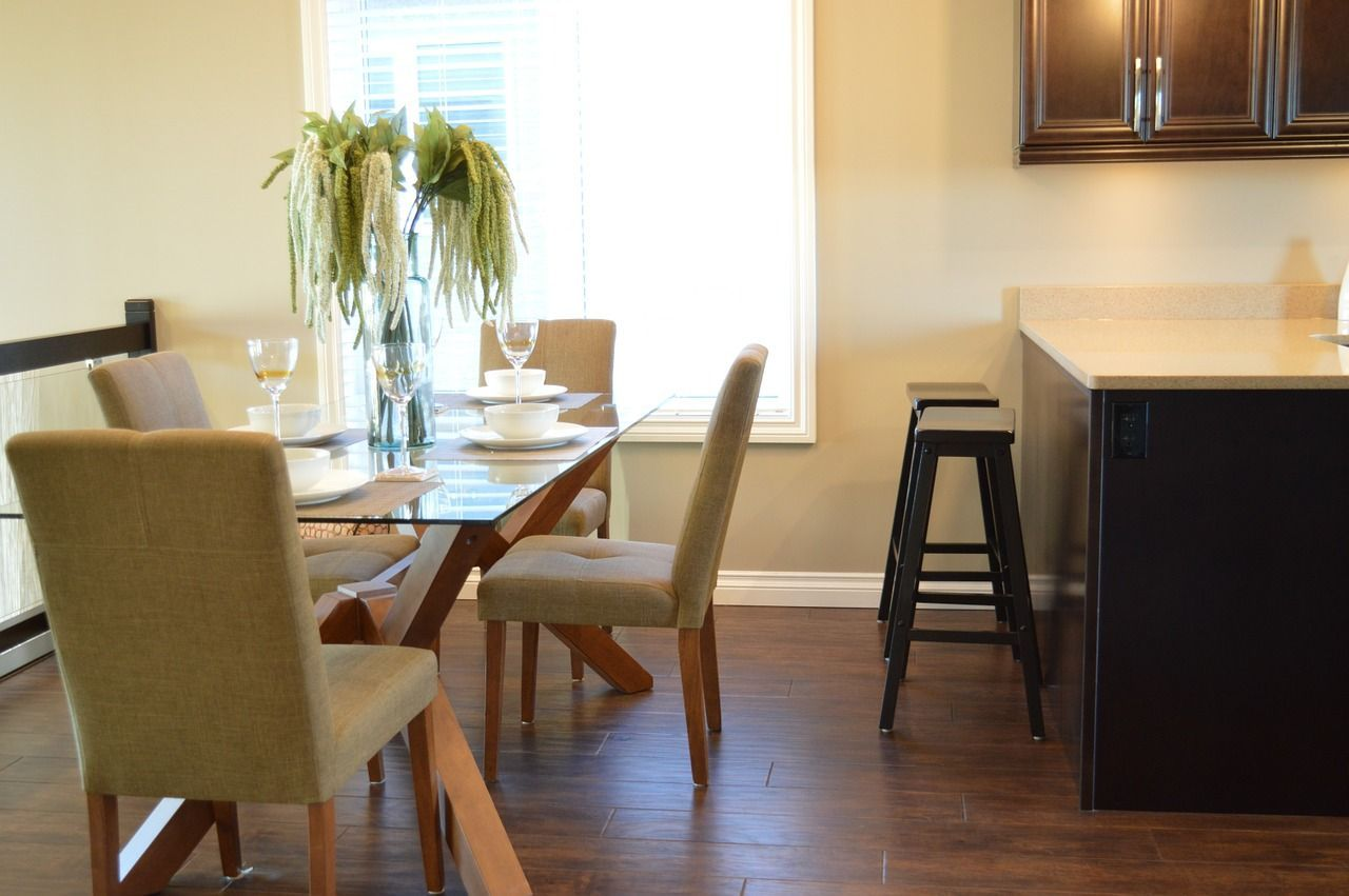 Home decor dining room kitchen table chairs house hom homedecor also rh pinterest