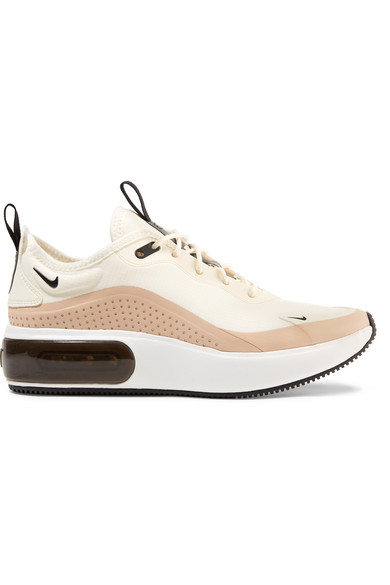 Nike Air Max Dia leather trimmed mesh sneakers | Nike