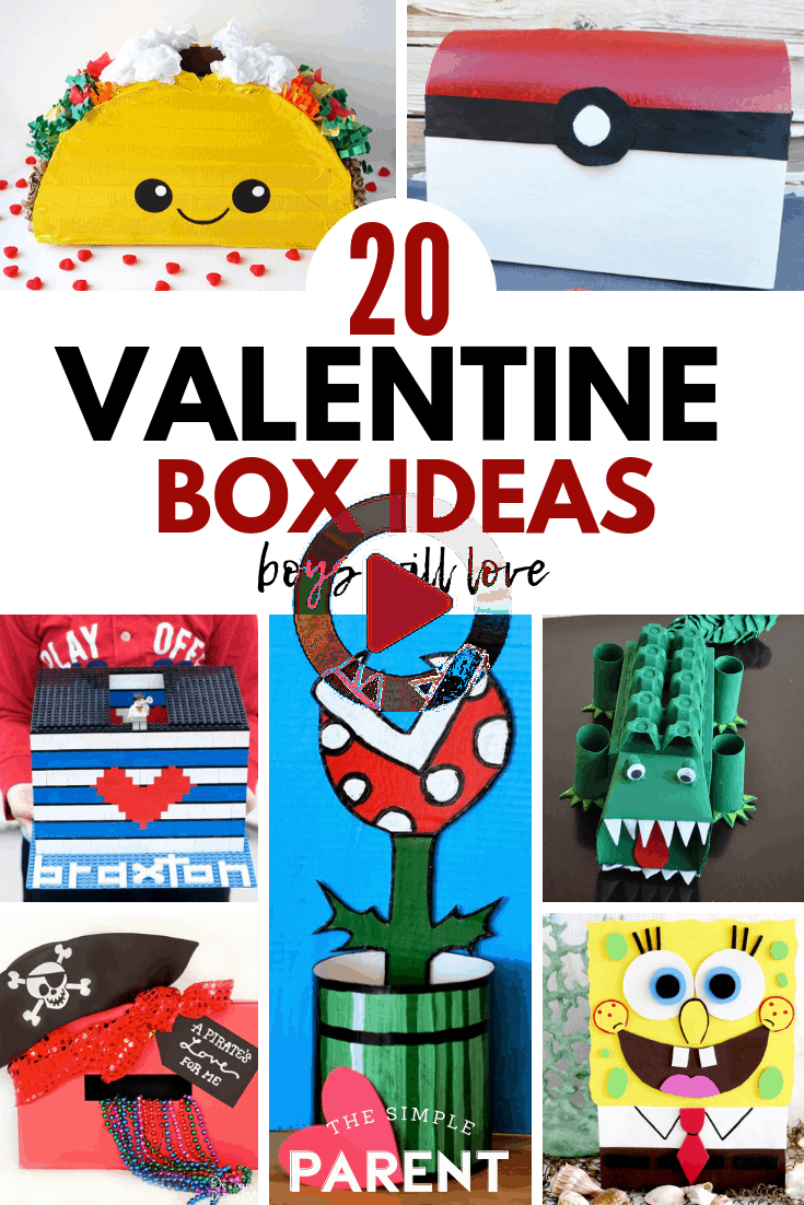 20+ Valentine Boxes for Boys for Valentine Party Fun!
