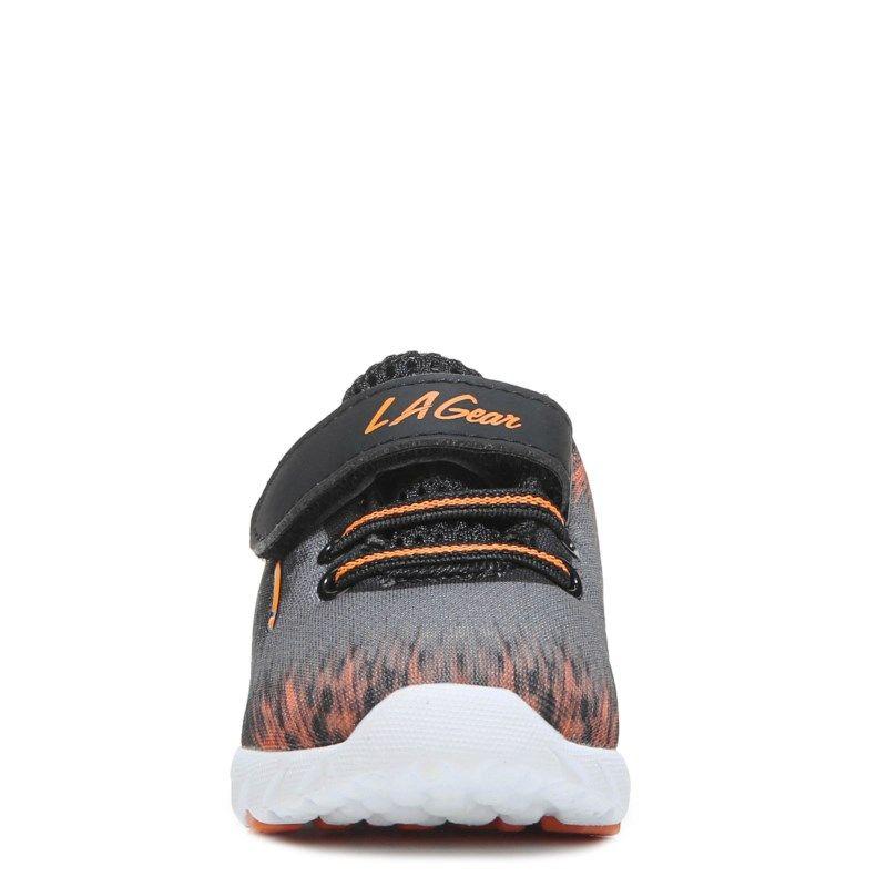 Gear Kids' Chill Wide Running Shoe Toddler Shoes (Grey/Orange) - W