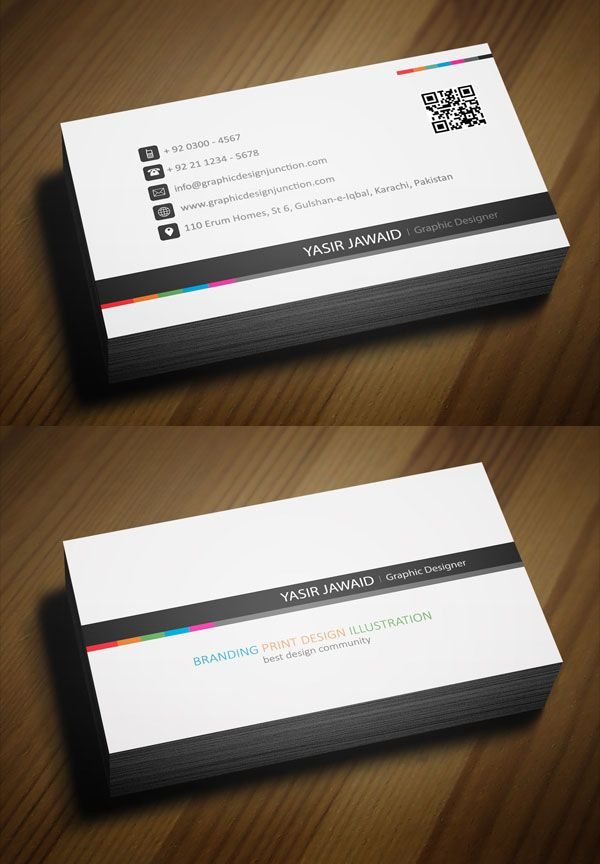 Free professional business card template business card pinterest free professional business card template wajeb Image collections