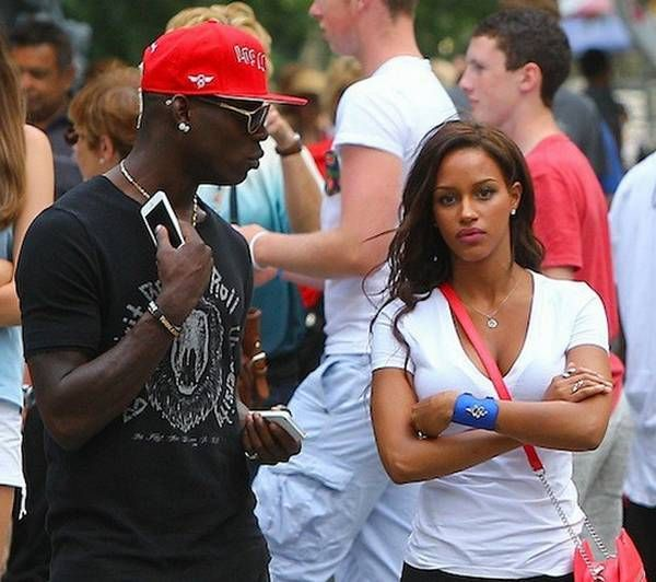 Mario Balotelli Marriage Proposal To His Girlfriend Fanny Neguesha