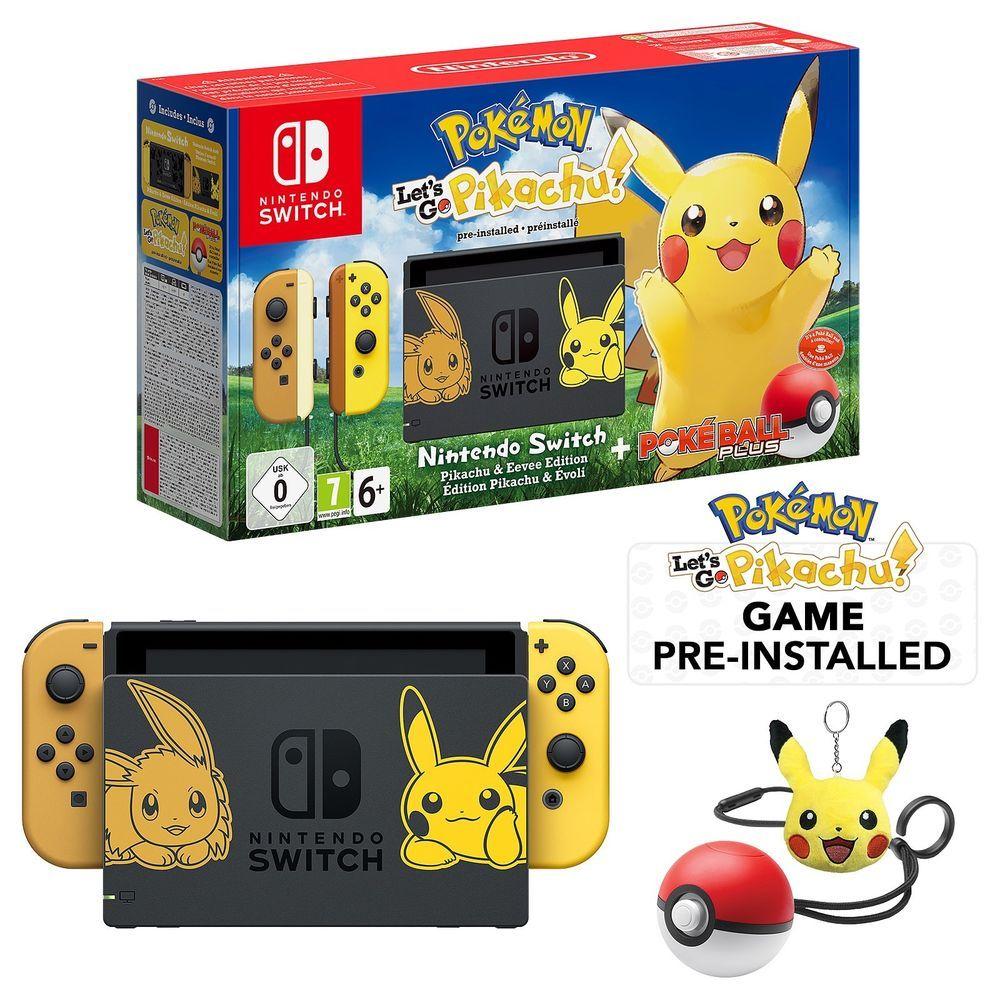 New Nintendo Switch Pikachu Pokemon Console Exclusive Artwork Bundle Pikachu Nintendo Switch Buy Nintendo Switch