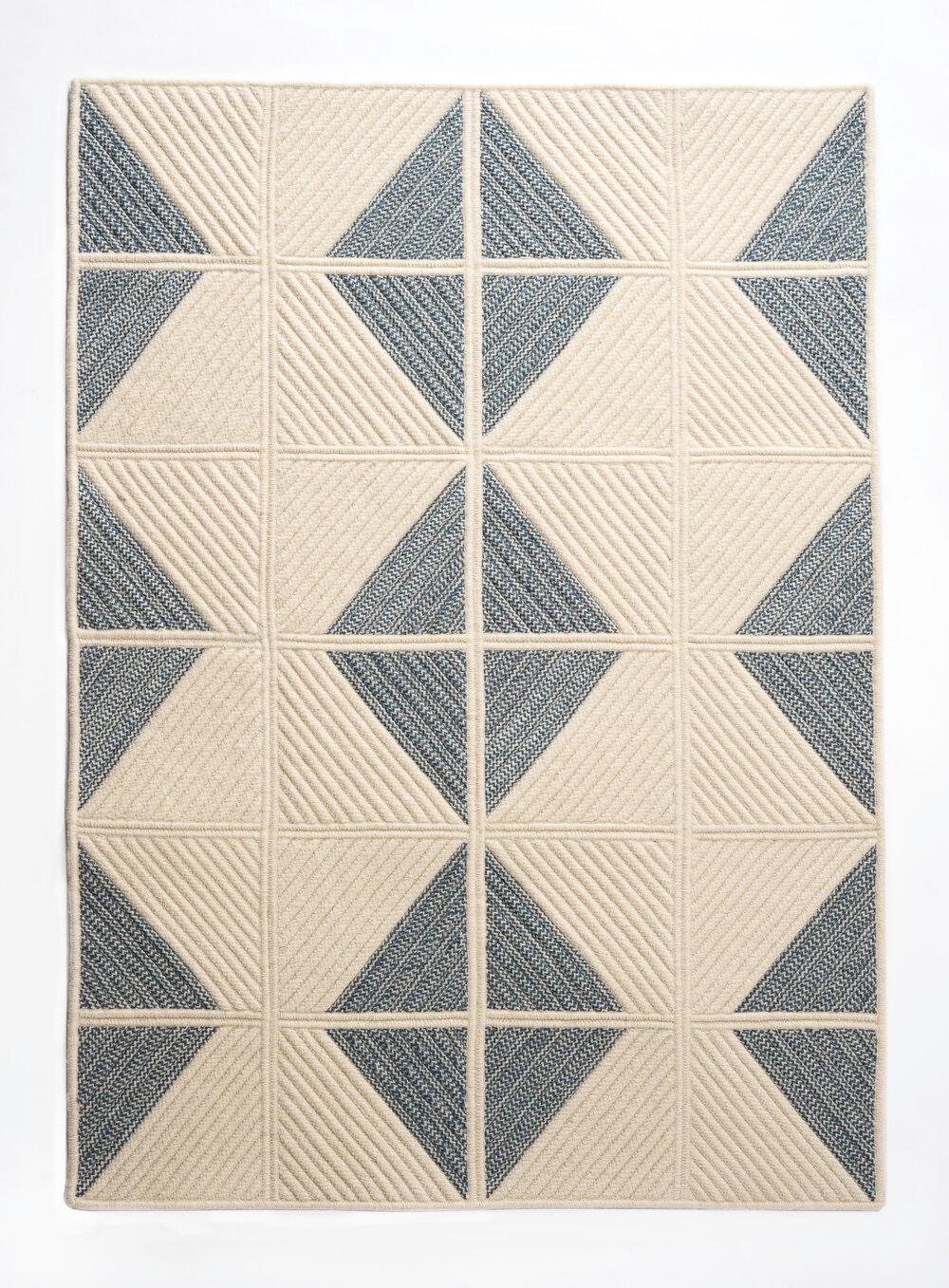 Sketch Rug Blue Thayer Design Studio Custom Rugs Trending Decor Rugs