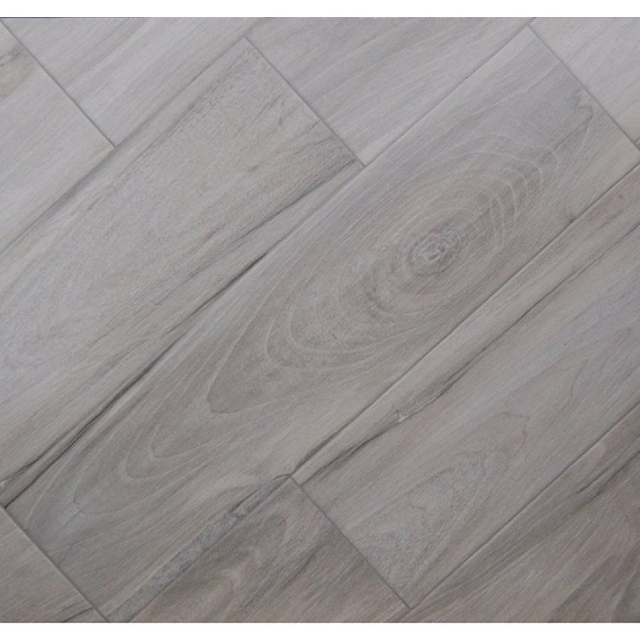 Shop the reserve 8 in x 32 in voyage gray glazed porcelain floor shop the reserve 8 in x 32 in voyage gray glazed porcelain floor tile dailygadgetfo Images