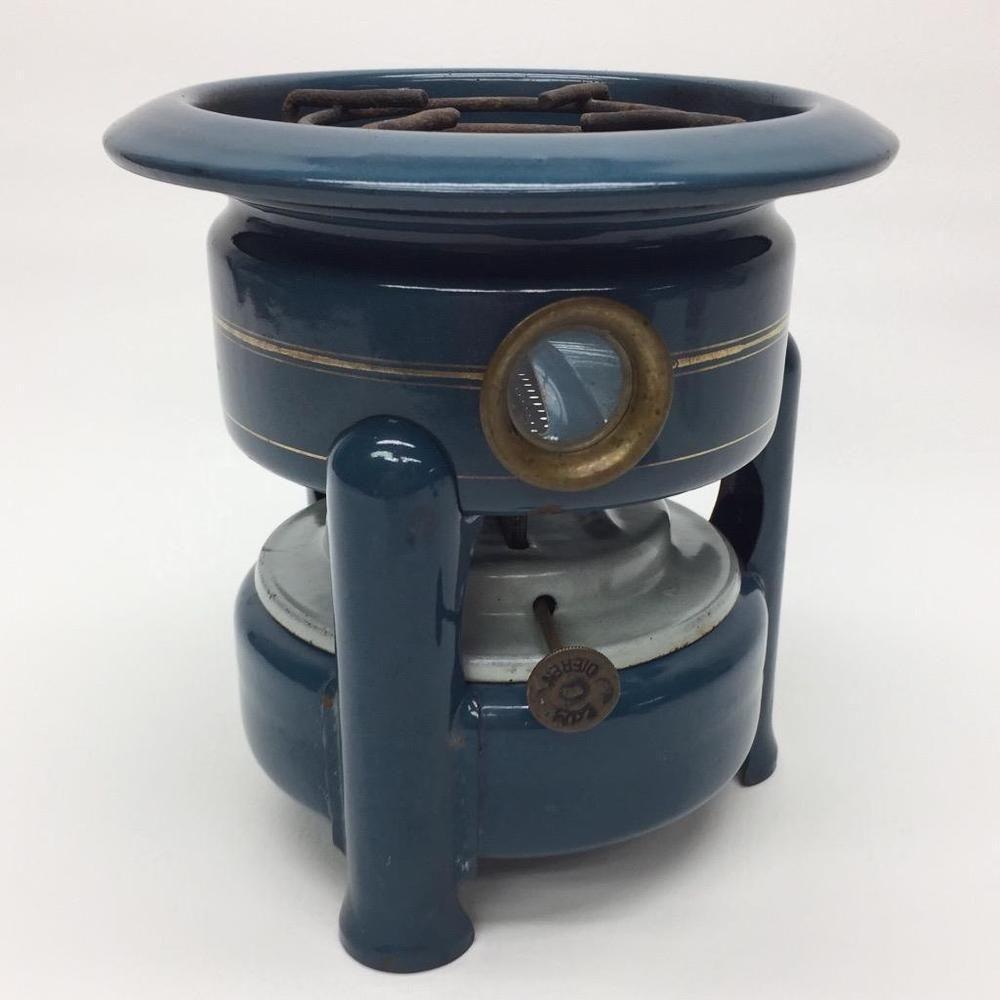 Edy Dieren Camp Stove Blue Enamelware Dutch Kerosene Petrol Single ... for Kerosene Camp Stove  117dqh