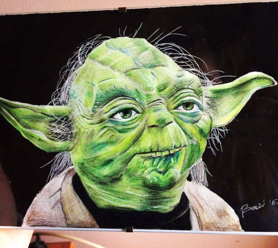 Yoda No.2 by NAcaNs   Drawing with pencil   Pinterest