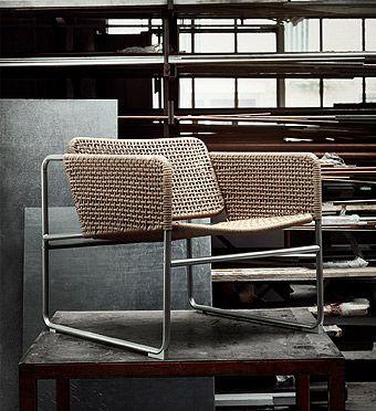 IKEA Deutschland INDUSTRIELL Sessel, Klar lackiertes Papier