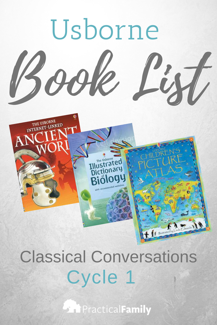 Classical Conversations Cycle 1 Usborne Book List Classical Conversations Homeschool Classical Conversations Usborne Book