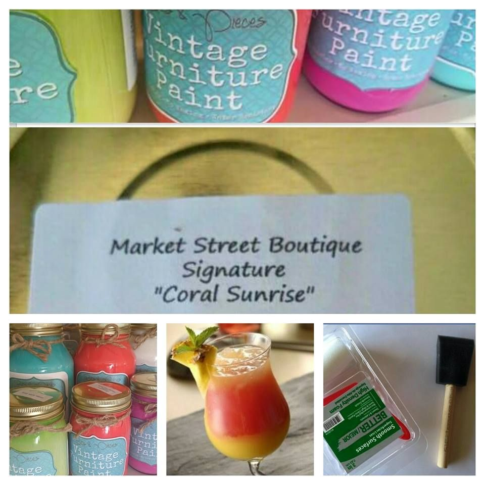 Betsy, From The Furniture Doctor Will Be Demonstrating Vintage Furniture  Paint™ At Market Street