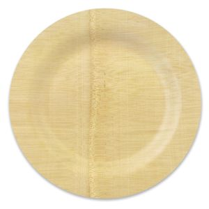 Bambu 060700 9 Disposable Bamboo Plate _ perfect for our rustic wedding. I bought these good quality and hold up well.  sc 1 st  Pinterest & Bambu 060800 11