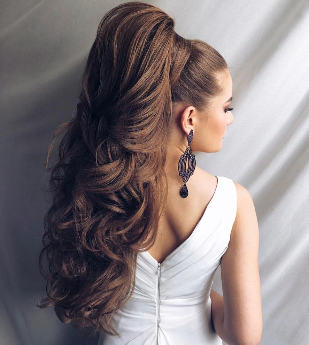 Pin By My Hairstyles On Hair Styles Long Hair Styles Long Hair Ponytail Hair Styles