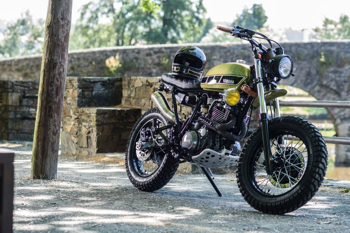 2000 Yamaha XT600 by Le French Atelier   Tracker