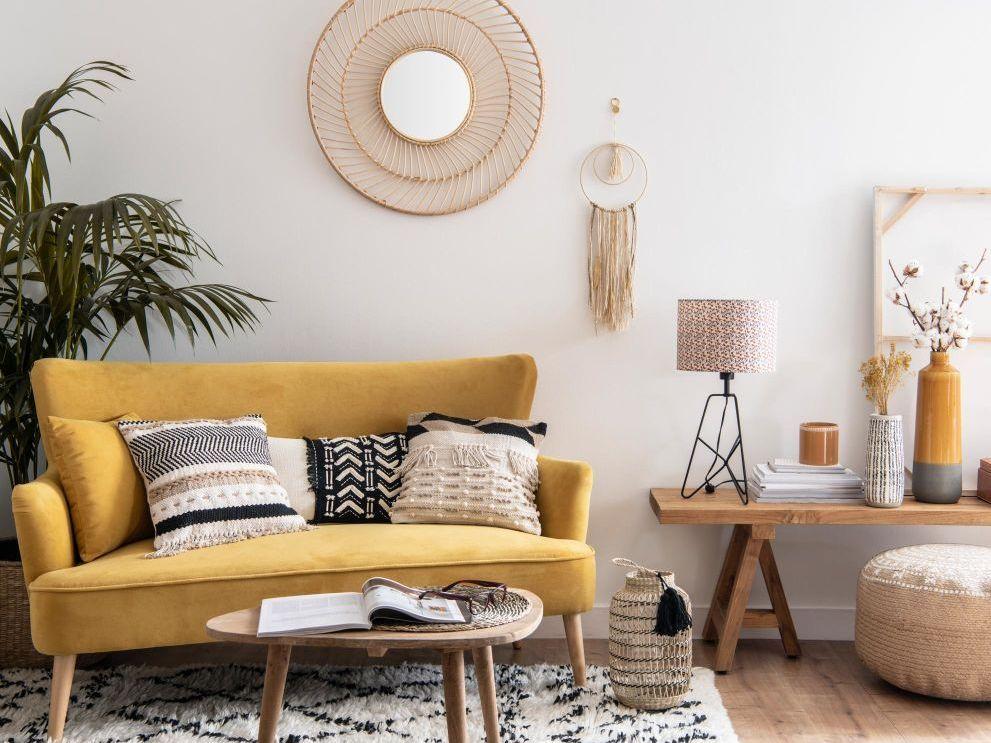 Quelle Deco Pour Un Salon Avec Un Canape Jaune Deco Salon