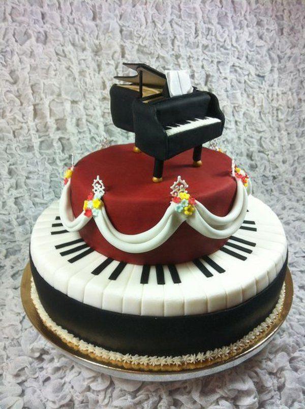 Recette gateau anniversaire musique