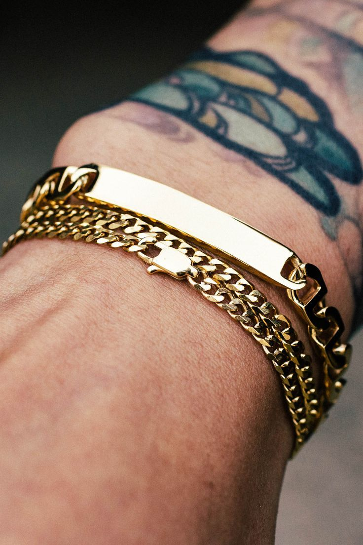 Love These Every Day Men S Bracelets Mens Gold Bracelets Mens