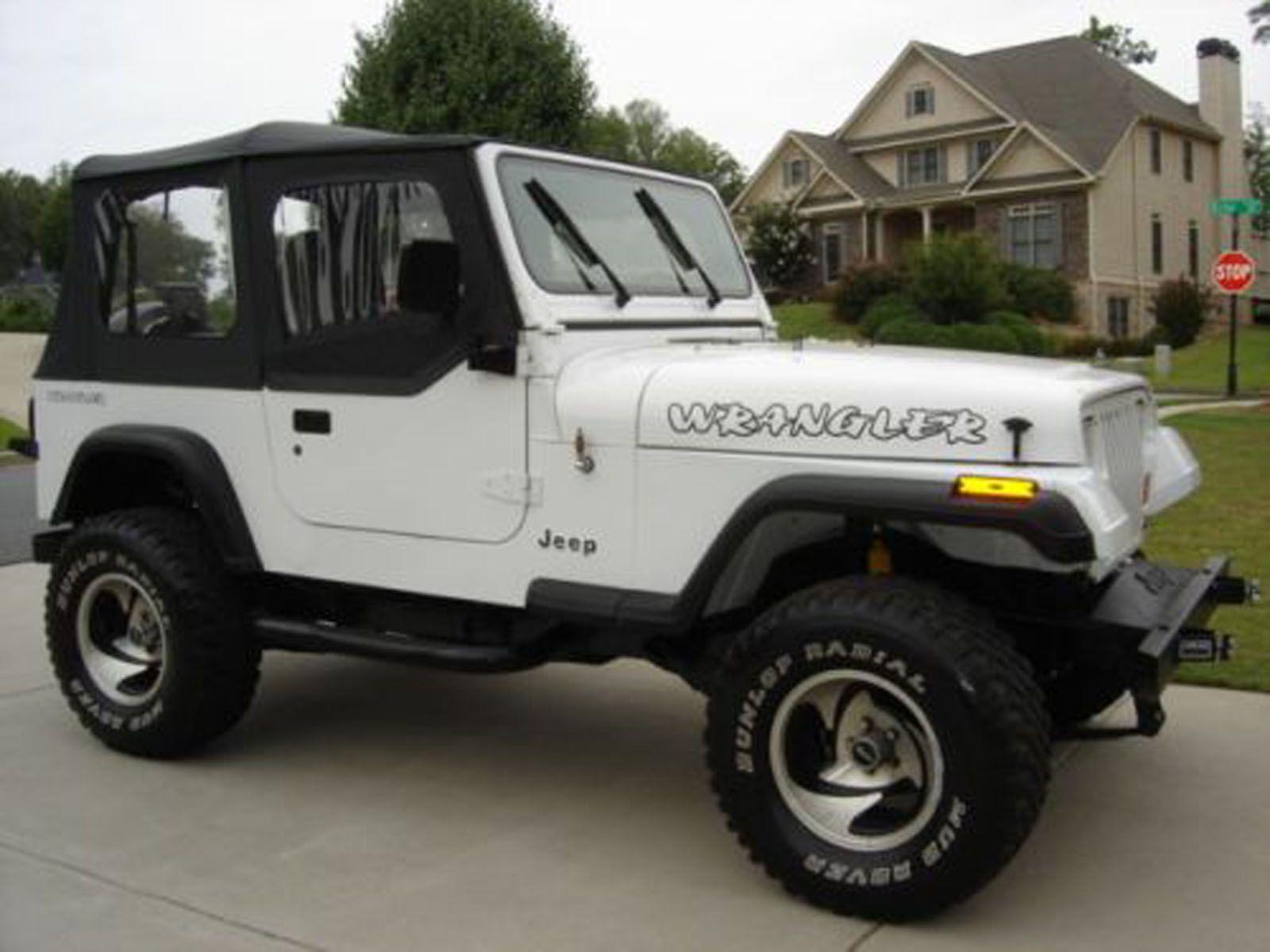 1995 Jeep Wrangler Lifted White Jeep Yj Jeep Wrangler Yj Jeep Wrangler Lifted