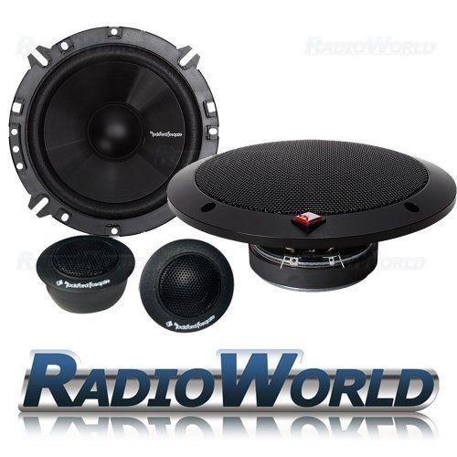 Rockford Fosgate R165-S R1 Prime 6.5-Inch 2-Way Component Speaker System
