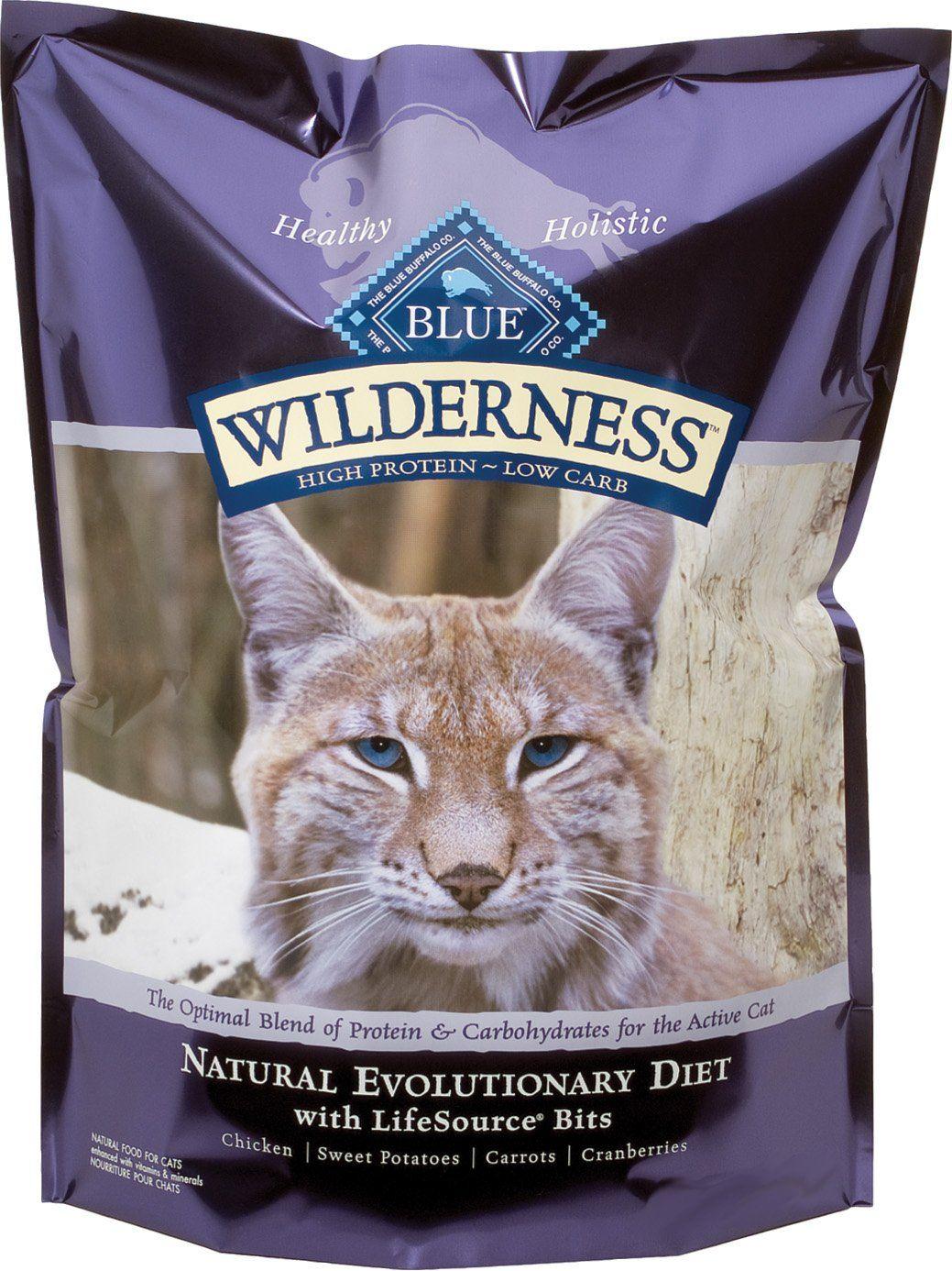 Blue buffalo wilderness grain free dry cat food chicken