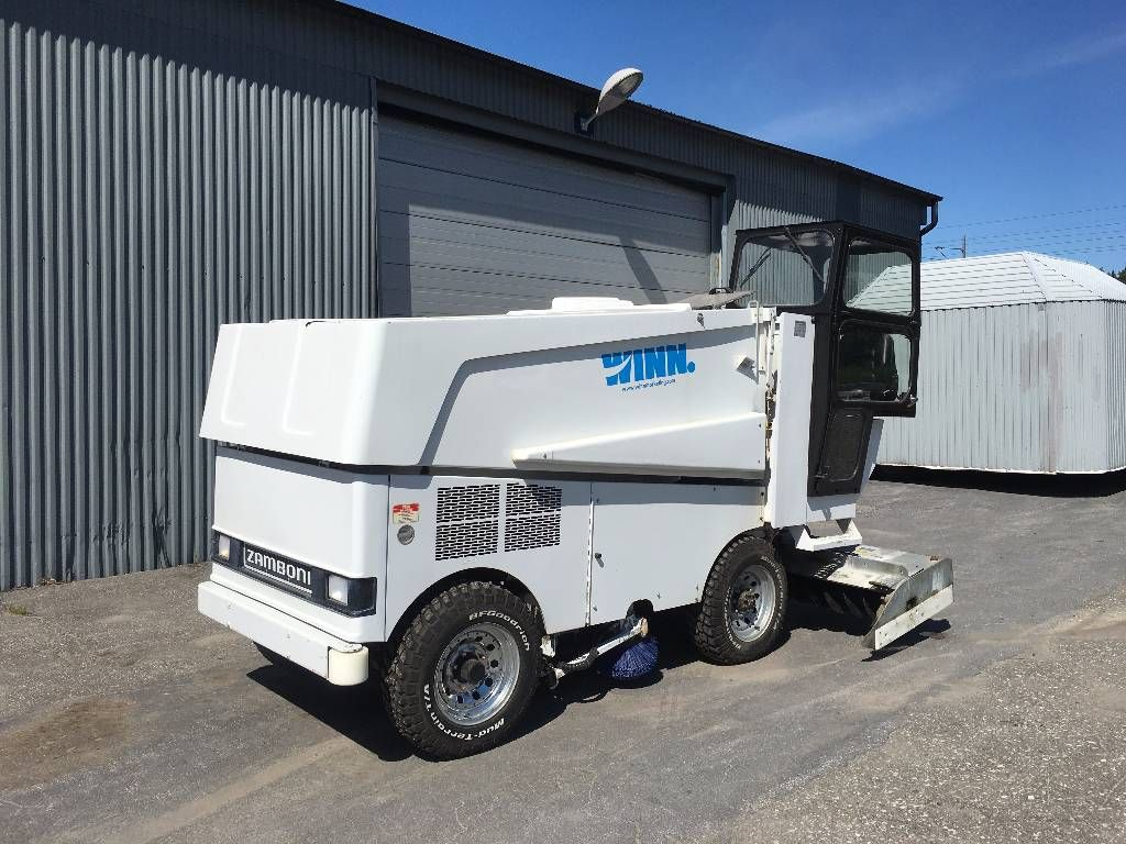 used zamboni for sale | Used Zamboni 525 Ismaskin / Isbanemaskin ...
