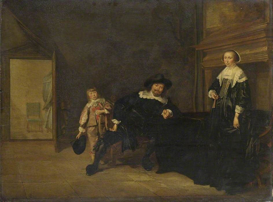 The Cart, 1641 by Le Nain brothers. Baroque. genre painting
