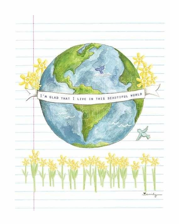 I love Earth Earth day drawing, Earth drawings