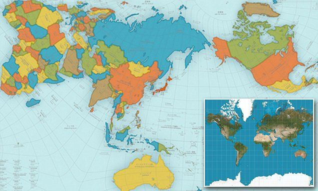 The Real World Map That Shows How Big Continents And Oceans Really Are Accurate World Map Map World Map