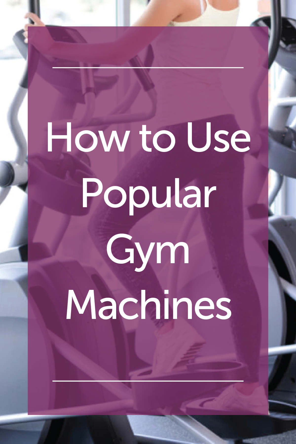 how to use gym machines pdf