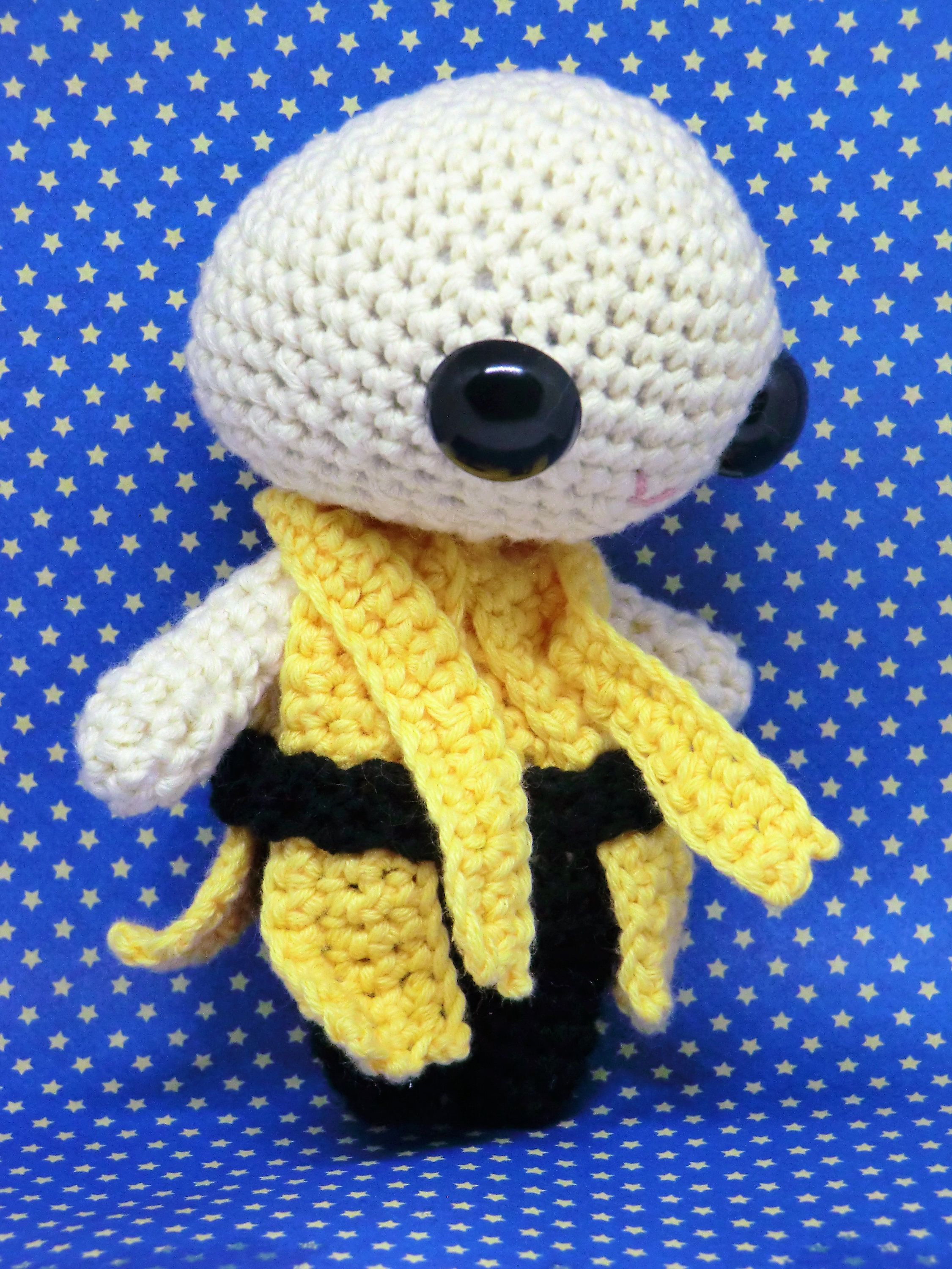 Ancient One amigurumi style PDF crochet pattern inspired by Doctor ...