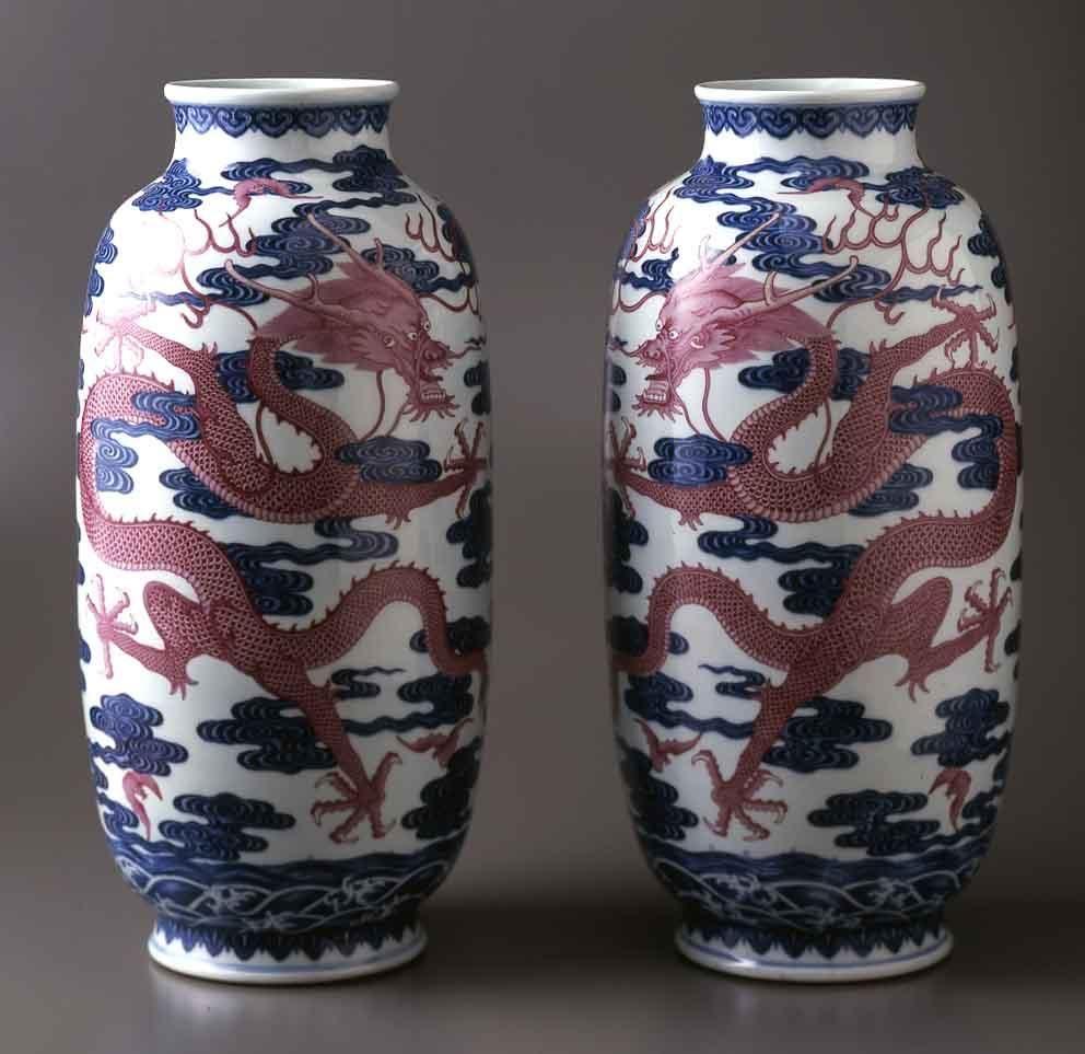 10 Pair of vases, Qing, Qianlong.jpg (992×963)