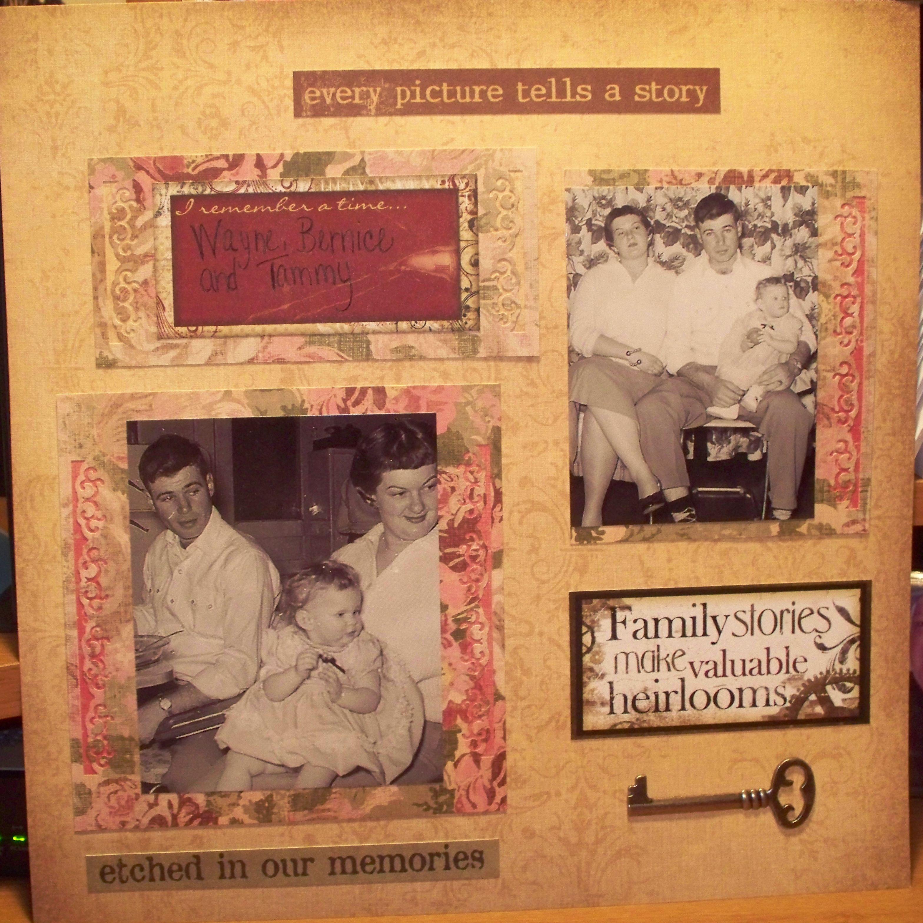 Family scrapbook ideas on pinterest - Finding Great Ideas To Start Scrapbooking Grandma Hagermans Millions Of Photos Family Scrapbook