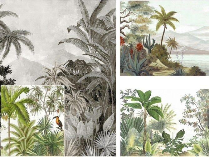Les nouveaux papiers peints déco – tropical et jungle