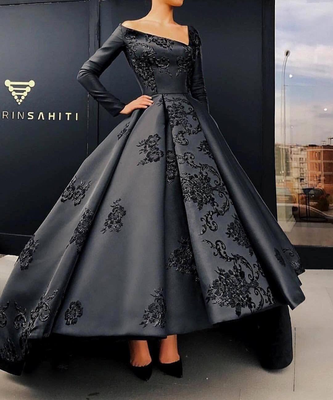 abendkleider lang schwarz #gorgeousgowns abendkleider lang