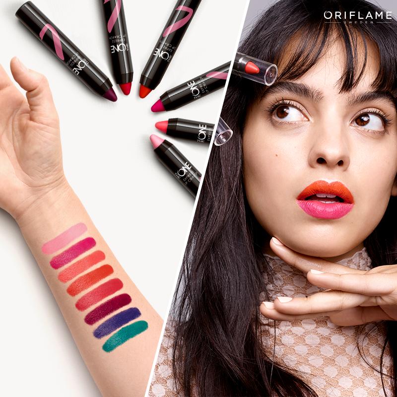 ¡Tus labios serán tu lienzo y tú la artista! Expresa tu estilo con   TheONEExpress f0ee16b79498