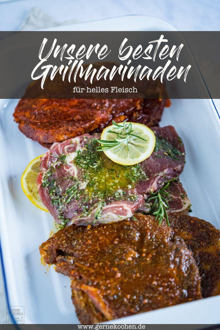 Die besten Grillmarinaden für Schweinefleisch - Rezept von Gernekochen.de