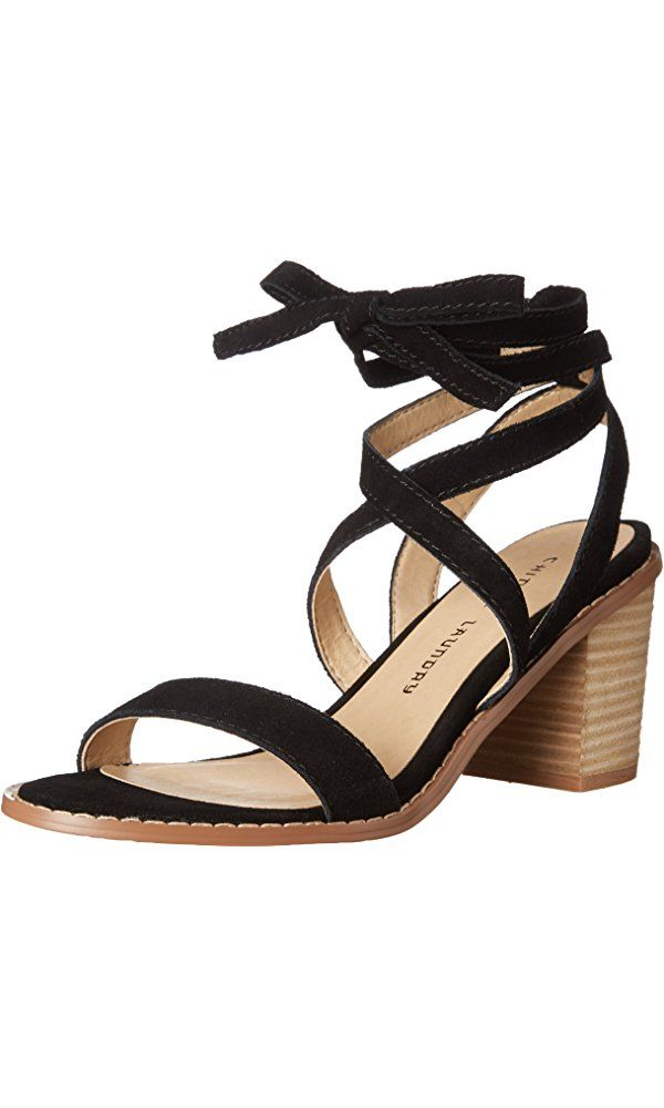 Chinese Laundry Women s Calvary Split Suede Heeled Sandal cb1b444f69