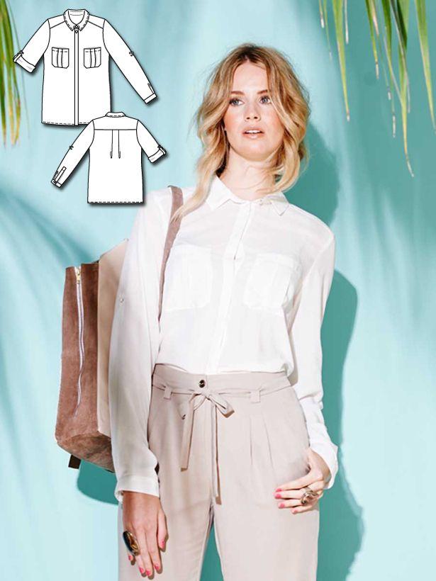 Colorful Basics: 11 New Women\'s Sewing Patterns | Nähen