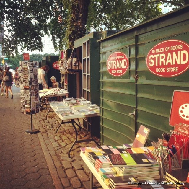 Though The Strand bookstore's Central Park outpost is a