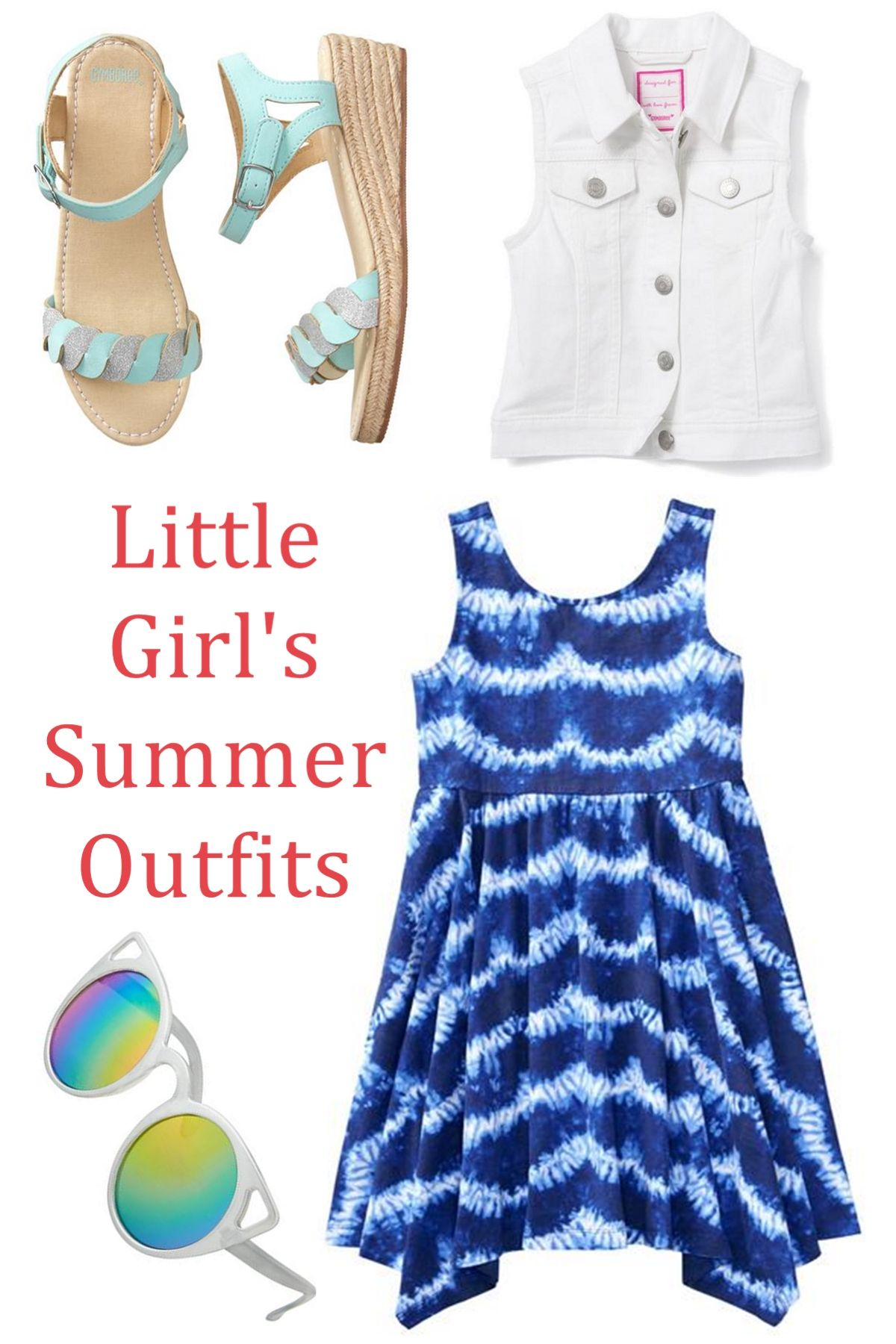 96cf1d1517e Discover beautiful little girl s outfits here! I love this little girl s  summer look! White Cat Eye Sunglasses