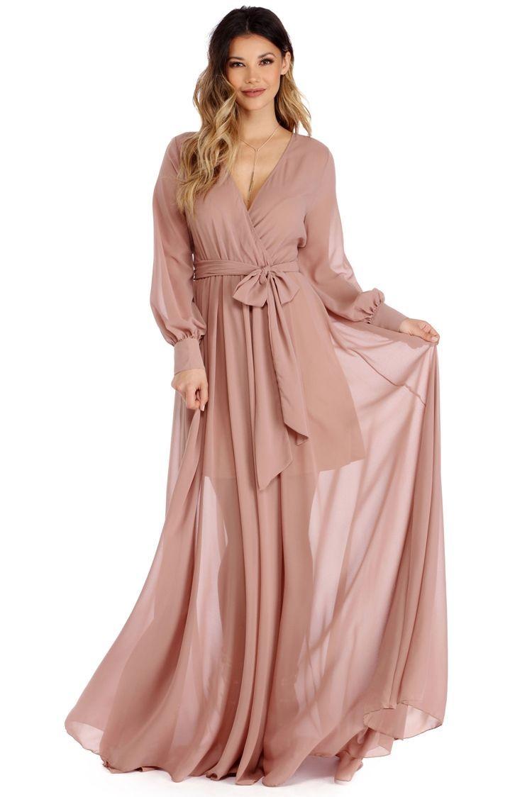 FINAL SALE - Charlotte Taupe Romance Dress